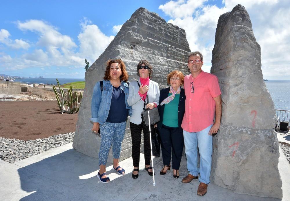 Inauguración del monumento de homenaje a los represaliados del Franquismo