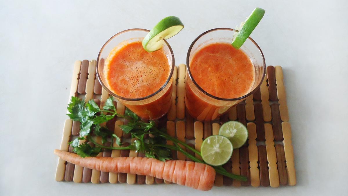 Dietas adelgazar | Un delicioso jugo de zanahoria