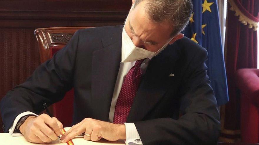 El Rey firmará los indultos en virtud de su función constitucional