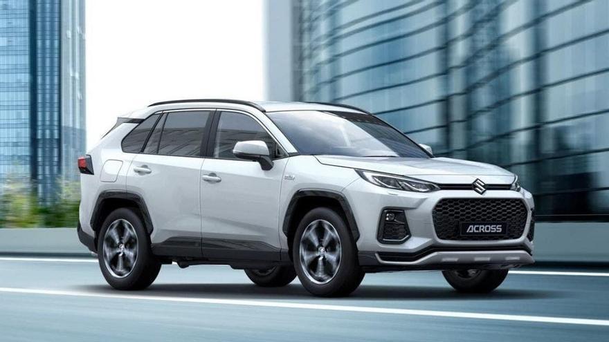 Suzuki presenta el Across, el hijo común con Toyota