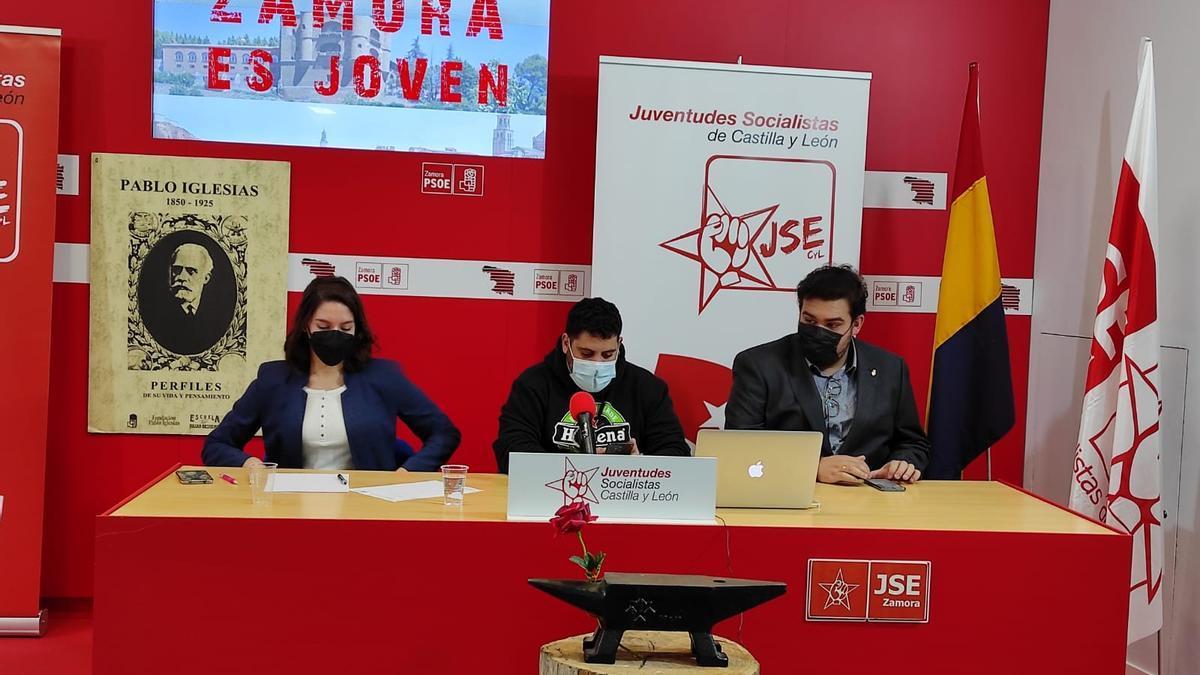Comité Provincial celebrado por Juventudes Socialistas de Zamora.