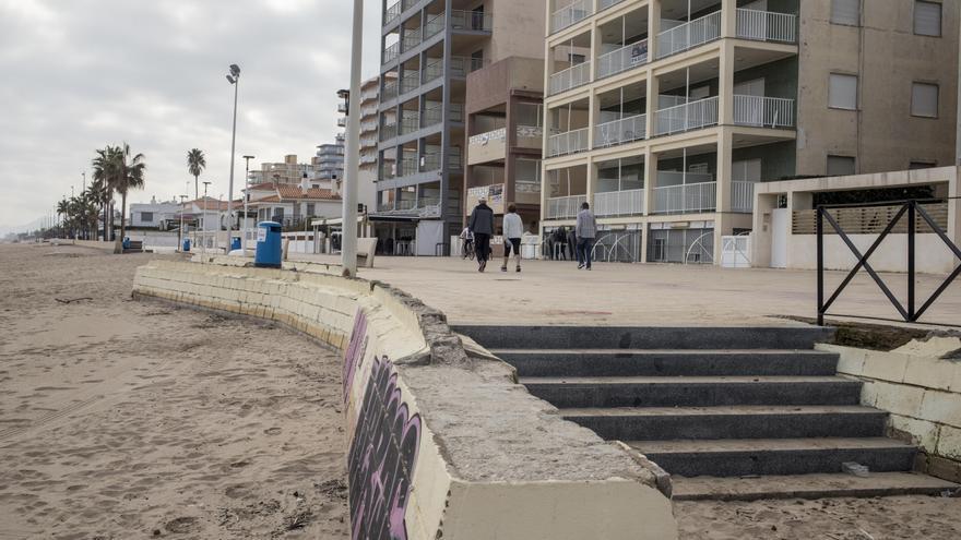 Bellreguard hará más resistente el paseo marítimo para frenar otro «Gloria»