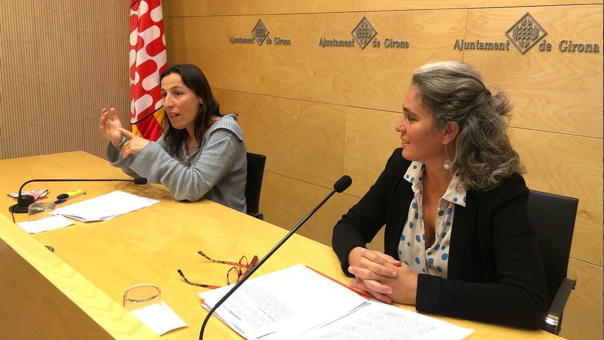 Laia Pèlach i Cristina Andreu