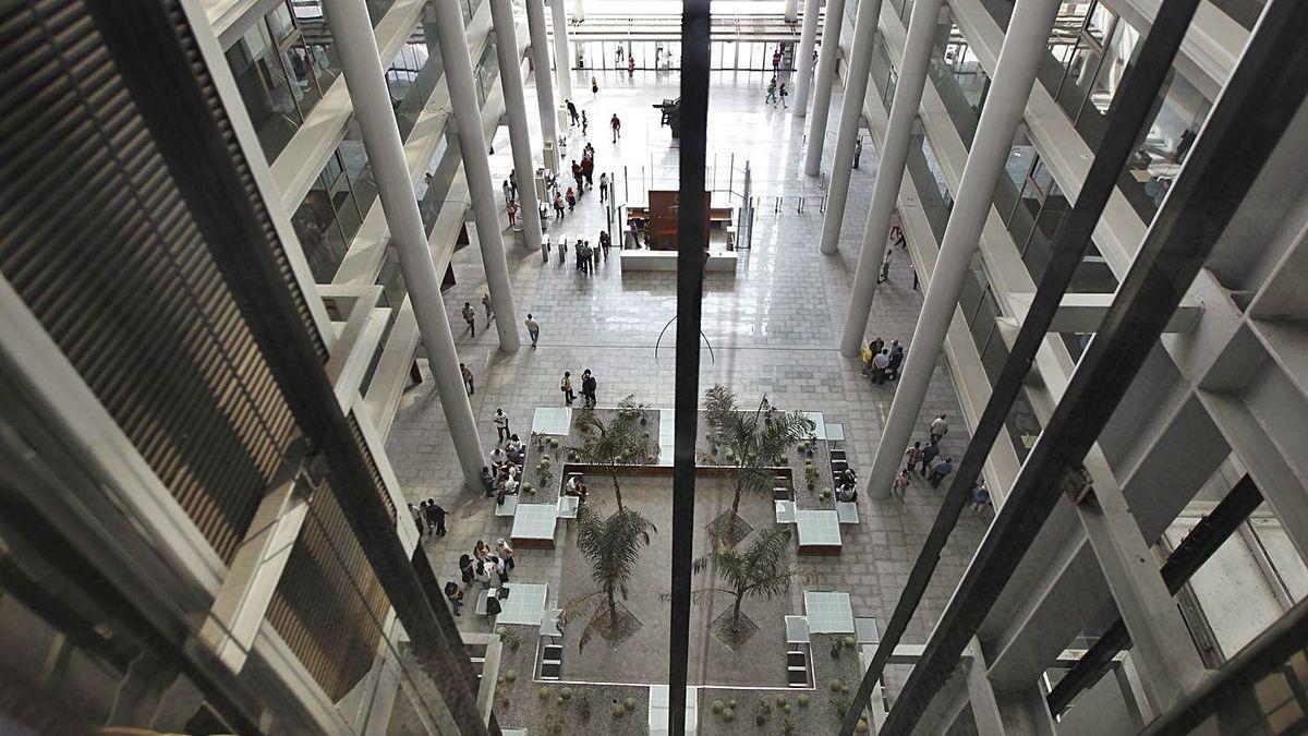 Ciudad de la Justicia de Valencia, donde fue juzgado en 2019 el agresor sexual