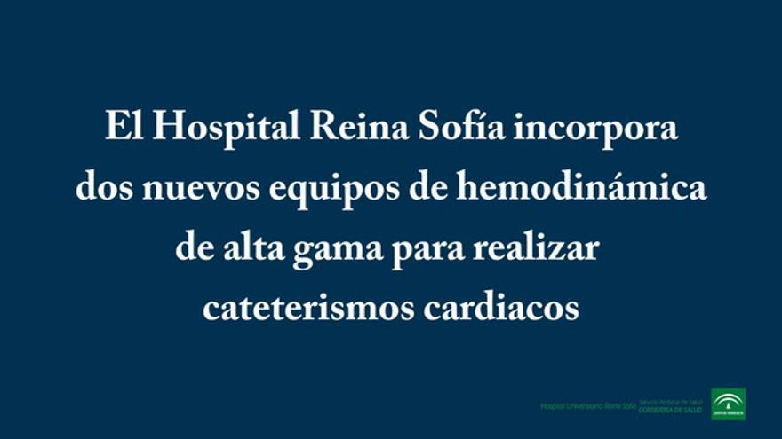 El Reina Sofía incorpora dos equipos de hemodinámica
