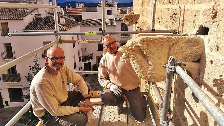Las gárgolas góticas de Xàbia vuelven a rugir
