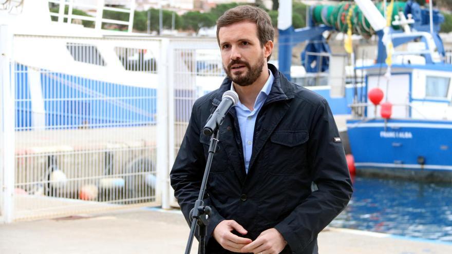 """Pablo Casado diu a Roses: """"Respecto les decisions judicials"""""""