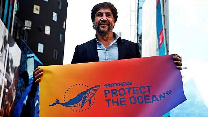 Bardem, en defensa de los océanos