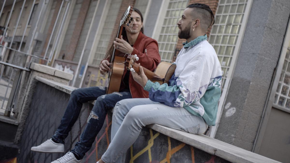 Carlos Salado, a la izquierda, y Antonio Clavería.
