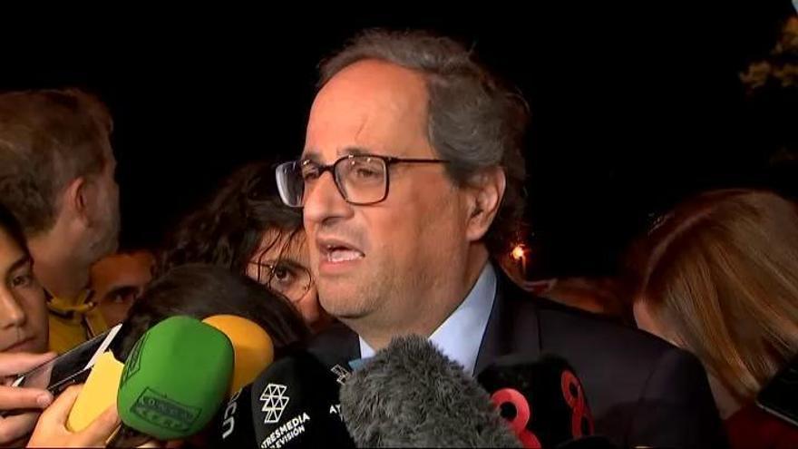 """Torra pide """"radicalidad"""" si no absuelven a 'los Jordis'"""