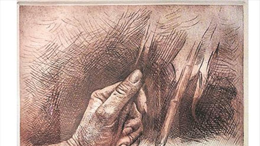 Permanente aprendizaje del pintor y escultor Traver Calzada
