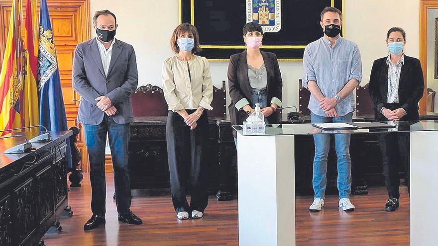 Cs acusa al PP de incumplir su pacto en Tarazona y le amenaza con irse a la oposición