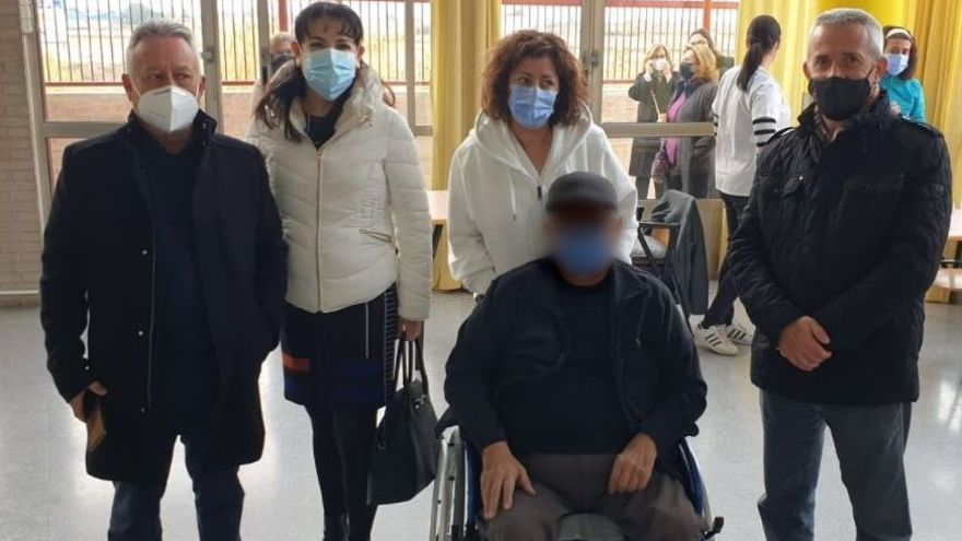 El concejal de Sanidad de Orihuela también se ha vacunado