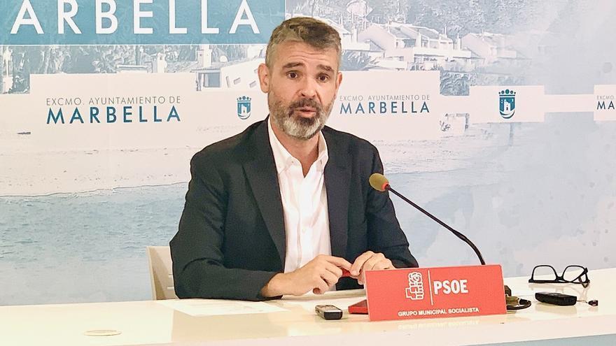 El PSOE denuncia el desvío de partidas sociales y de formación para pagar sentencias en Marbella