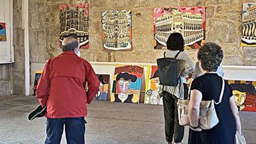 El pintor Raúl Velloso da el relevo a Vázquez Alemán en Capitanía