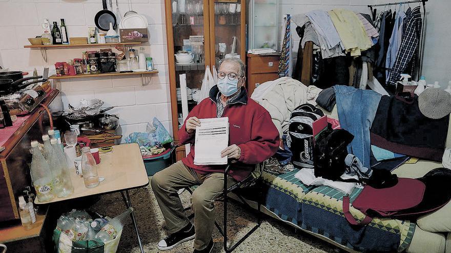 Un valenciano consigue el empadronamiento en un trastero después de siete meses