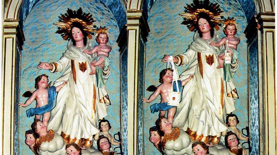 La 'lujaniana' Virgen de las Mercedes se estrenó en 1802