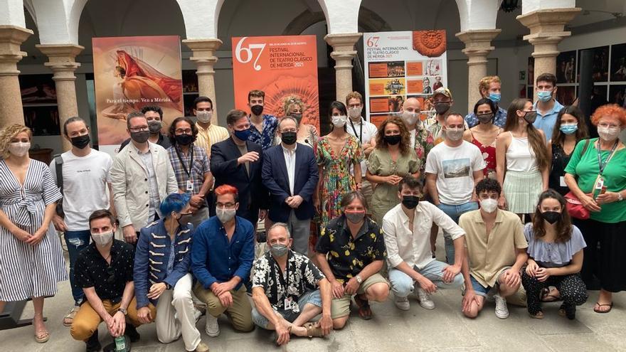 Carlos Latre debuta en el festival de Mérida con el musical 'Golfus de Roma'