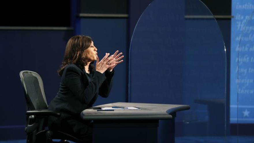 Kamala Harris se convierte en la primera mujer que ocupa la vicepresidencia de Estados Unidos