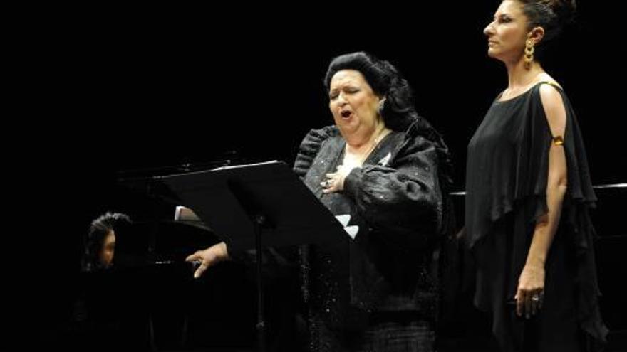 La lírica plora la mort de Montserrat Caballé