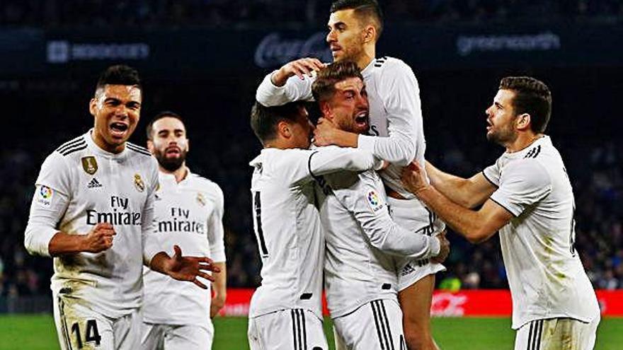 Ceballos evita a darrera hora una nova ensopegada del Reial Madrid