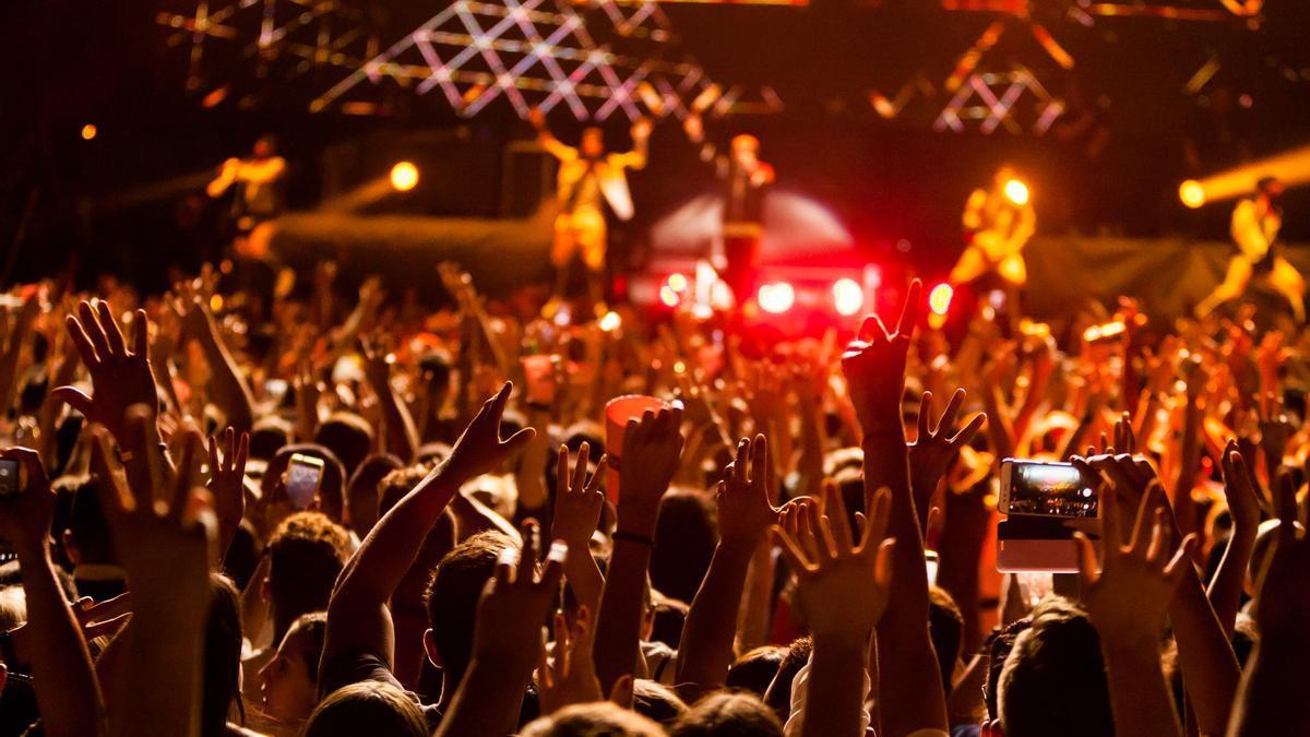 Imagen de archivo de un concierto celebrado antes de la pandemia.