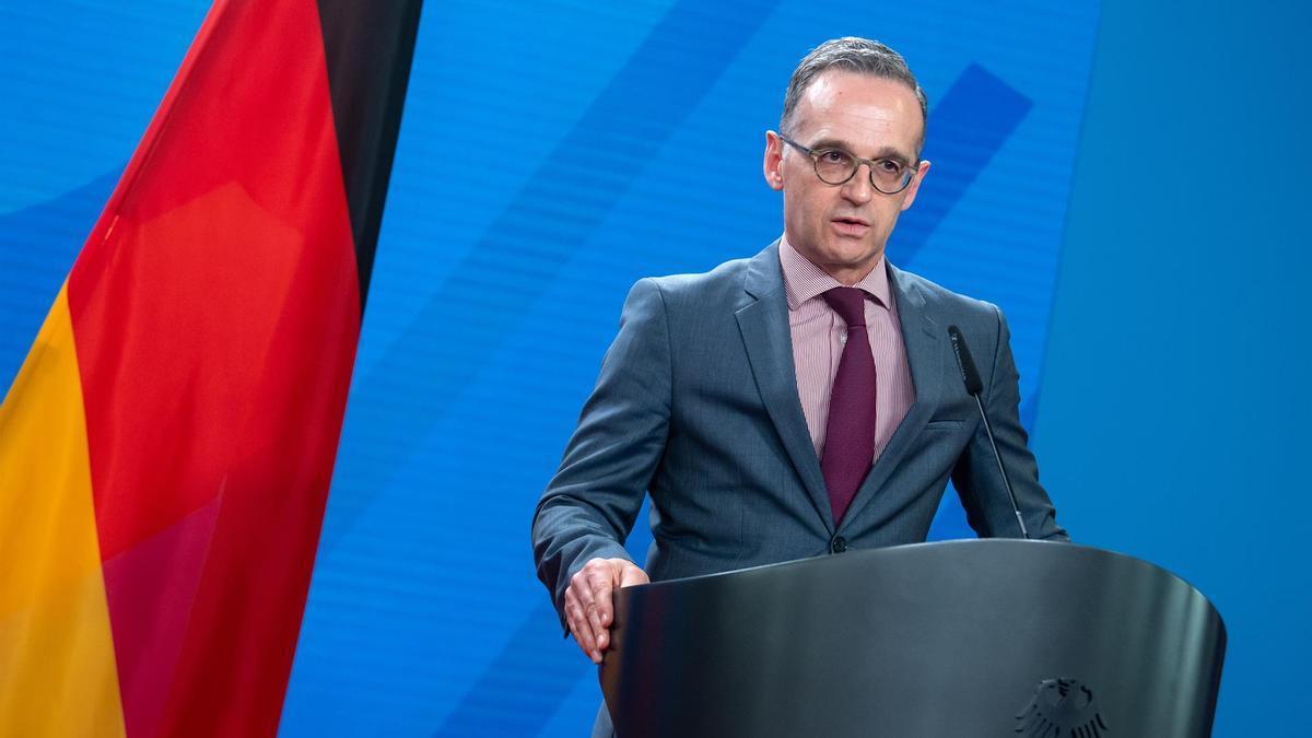 El ministro de Relaciones Exteriores alemán, Heiko Maas.
