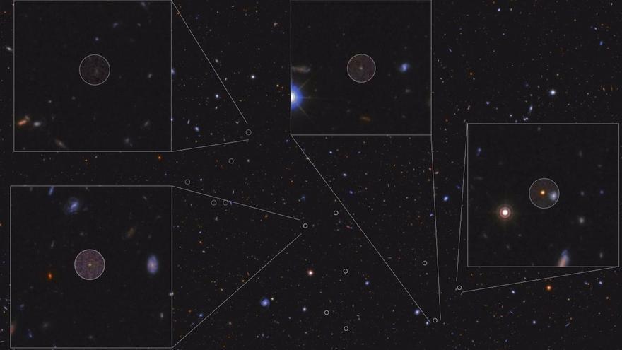 La mayor 'ciudad de galaxias' del Universo primitivo