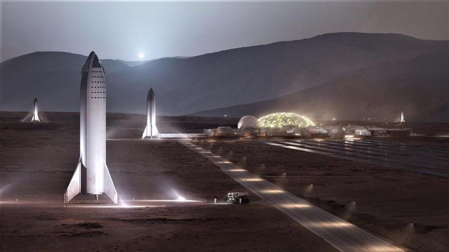 Viajar a Marte costará menos de 500.000 dólares, según Elon Musk