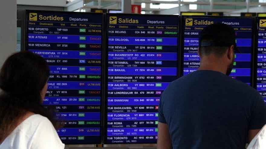 La vaga d'Iberia afecta uns 15.600 passatgers de Vueling amb origen o destí a Barcelona