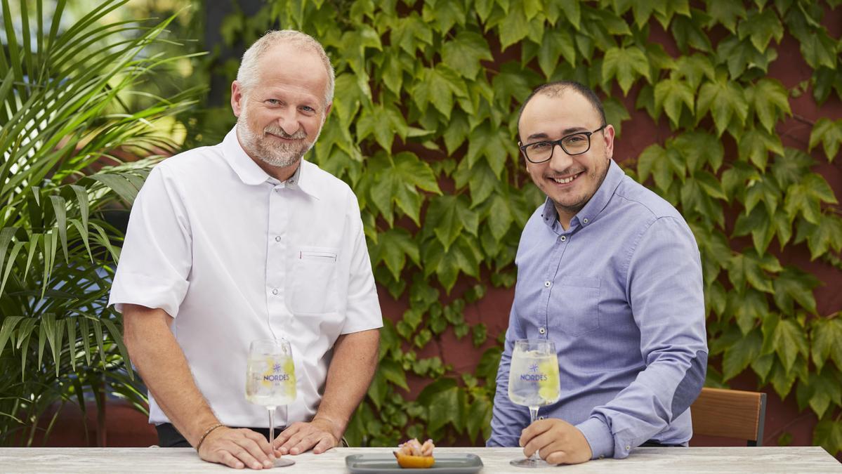 Pepe Vieira y Willy Gómez, binomio de éxito de Nordesiño en A Coruña.