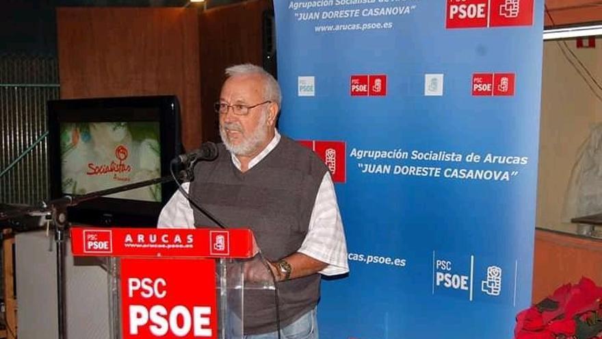 Muere Rafael Morales Ponce, presidente del PSOE de Arucas