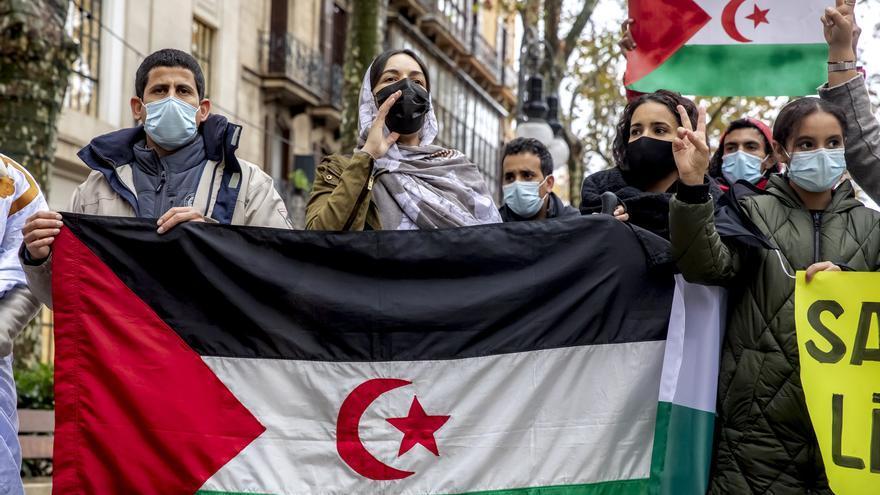 Concentración en es Born por un Sáhara libre