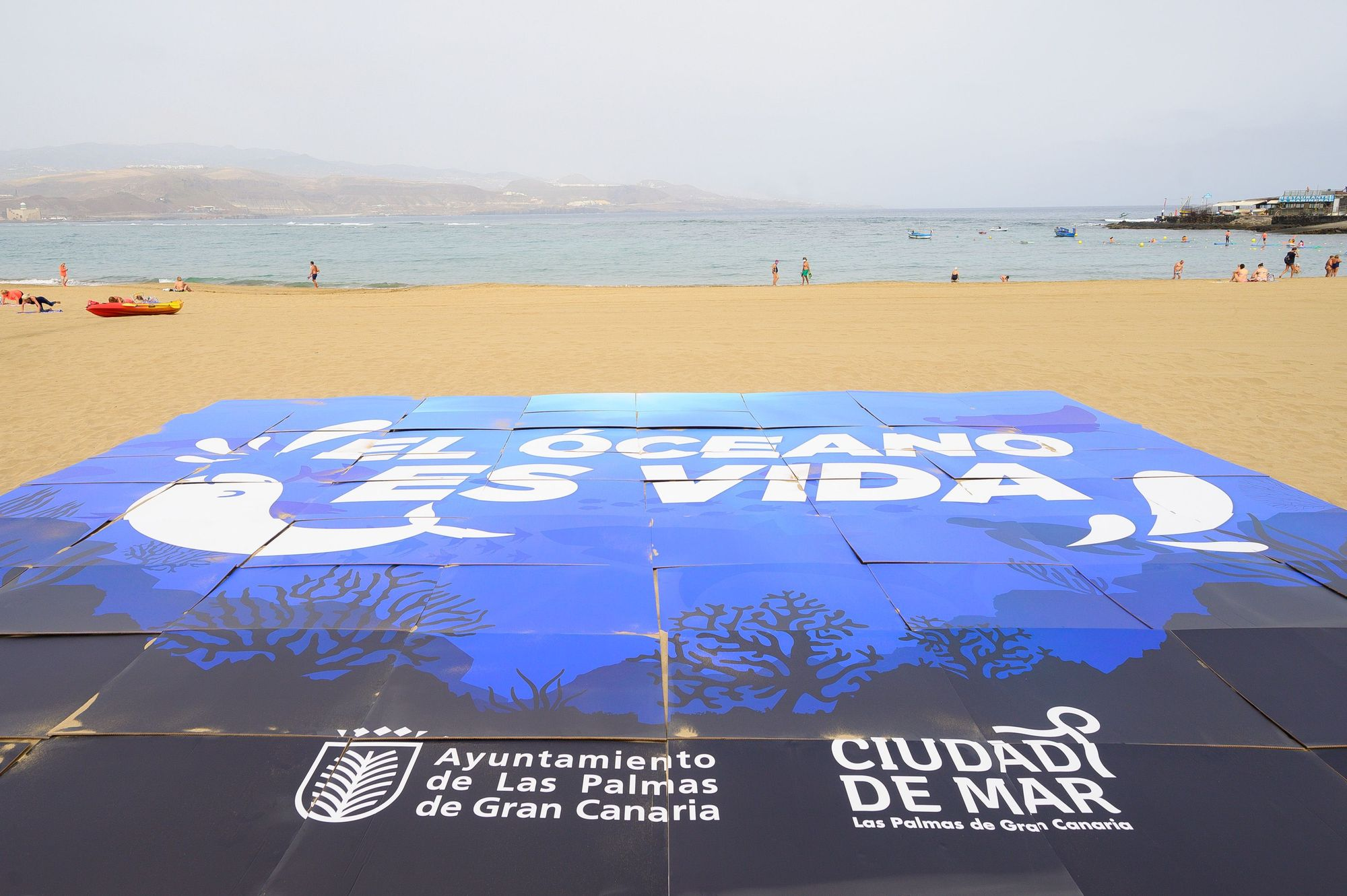 Día Mundial de los Océanos en la playa de Las Canteras