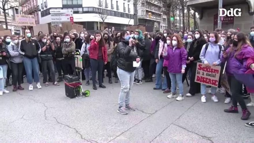 Girona reivindica el 8-M malgrat la pandèmia