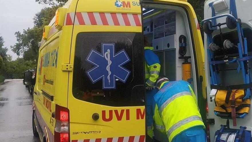 Herido un hombre en Madrid tras ser alcanzado por un rayo al salir al jardín de su casa