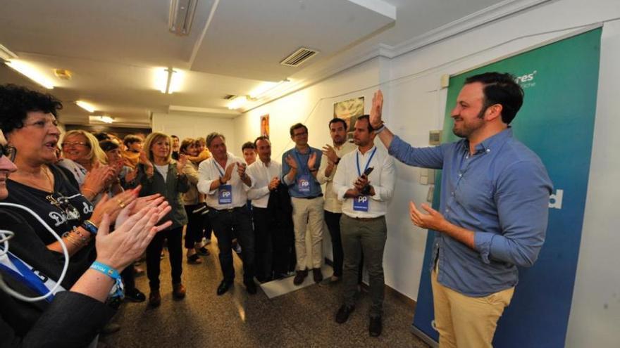 Elecciones municipales en Elche: Pablo Ruz aparece después del escrutinio