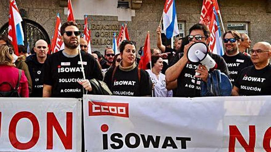 La plantilla de Isowat asume el cierre ante la ausencia de oferta para vender la planta
