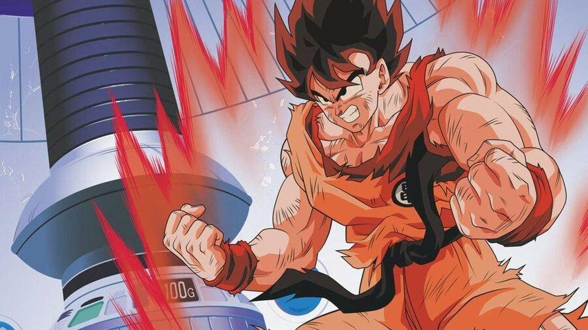 El entrenamiento con gravedad de Goku.