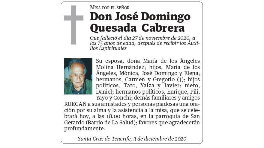 José Domingo Quesada Cabrera