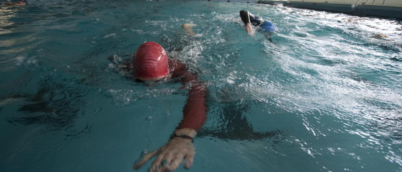 La piscina de la Universidad de Oviedo.