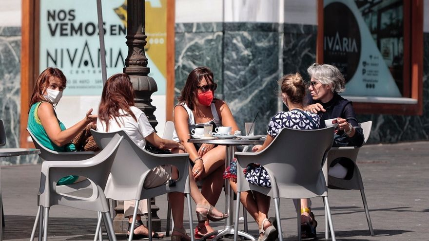 Canarias registra 855 nuevos casos Covid este viernes