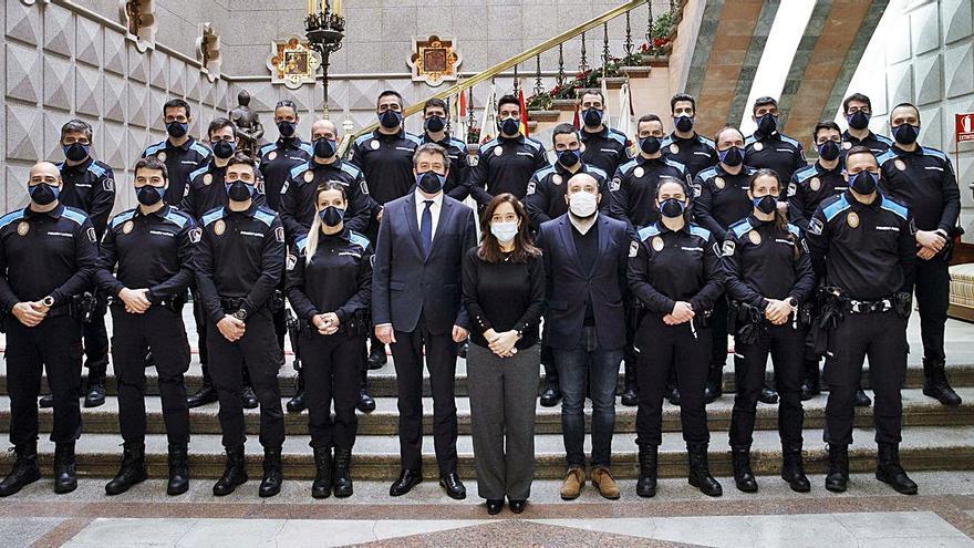 Recepción de 24 nuevos funcionarios de la Policía Local