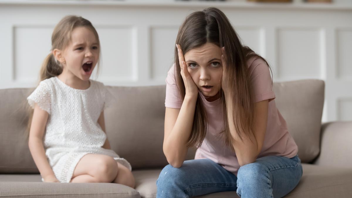 Así debes actuar para que no se repitan las rabietas de tus hijos