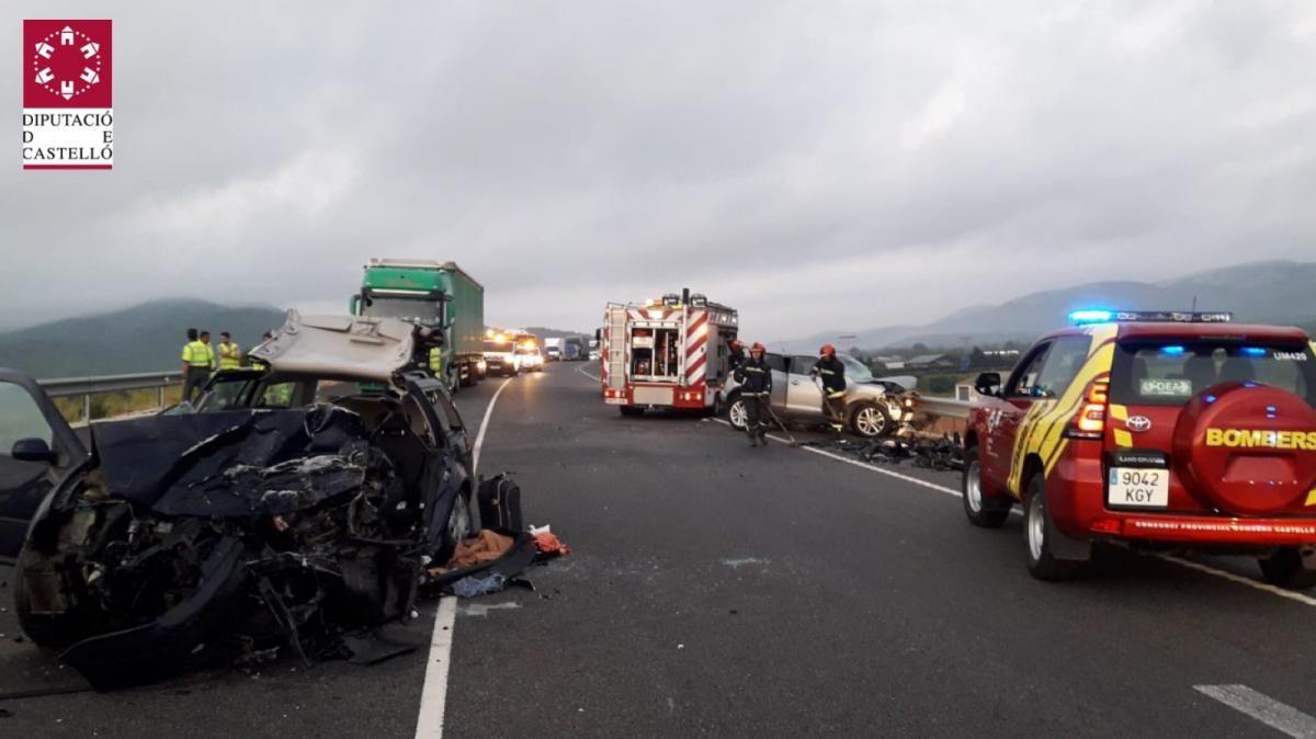 GALERÍA| Los accidentes de Peñíscola y Alcalá de Xivert