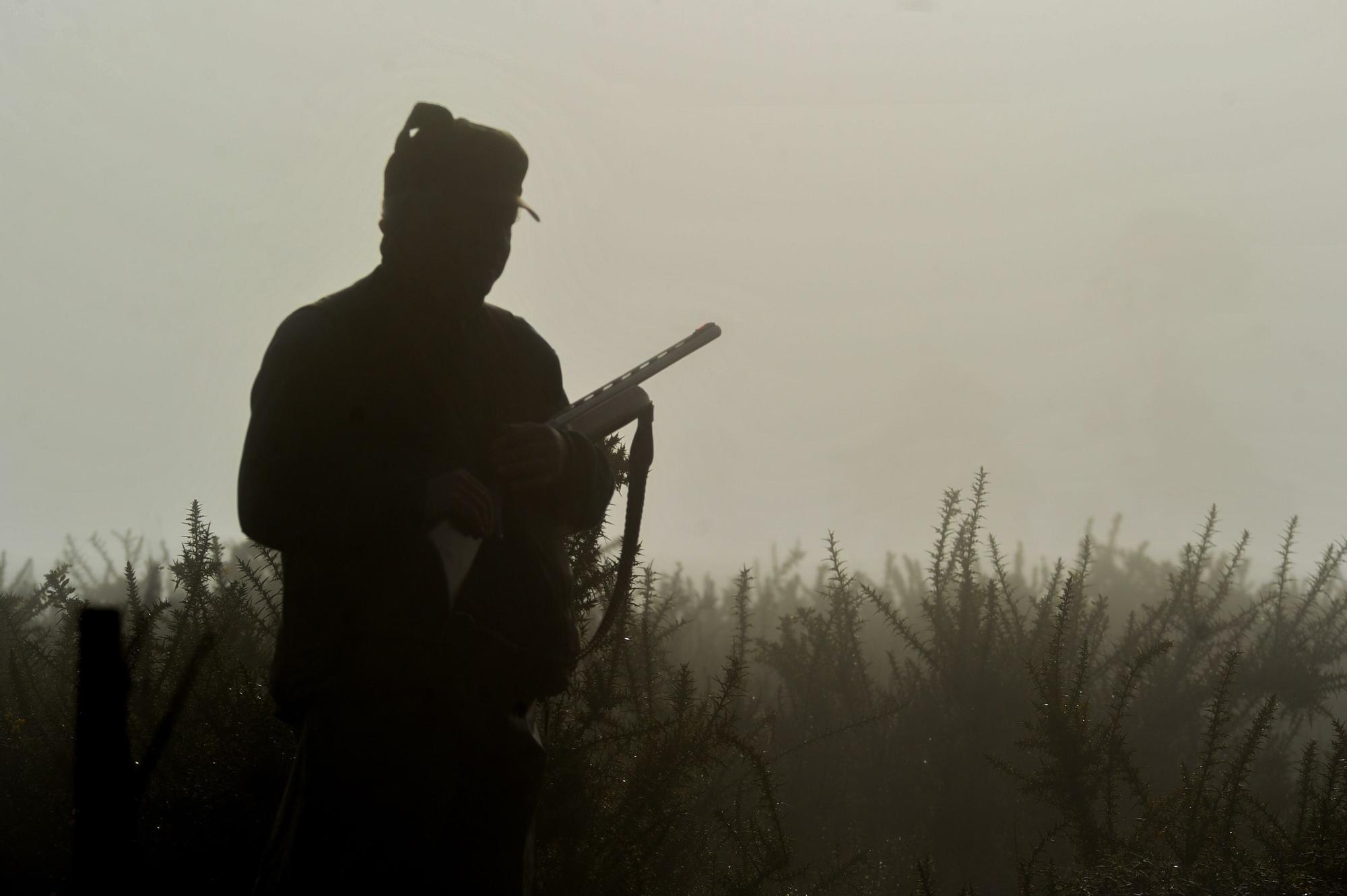 Imágenes del penúltimo día de caza en O Salnés