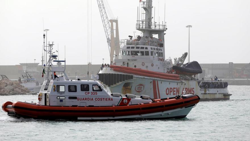 Itàlia deté el vaixell de Proactiva Open Arms per fomentar la immigració irregular