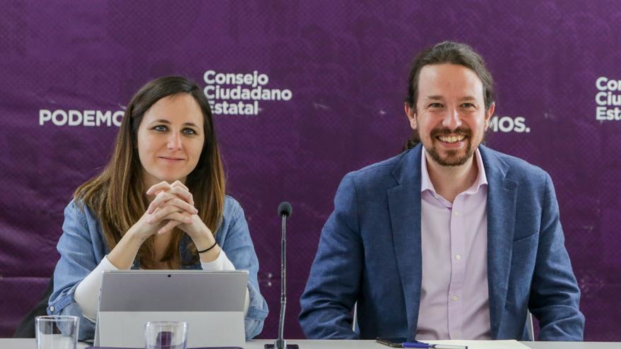Ione Belarra gana enteros para sustituir a Pablo Iglesias
