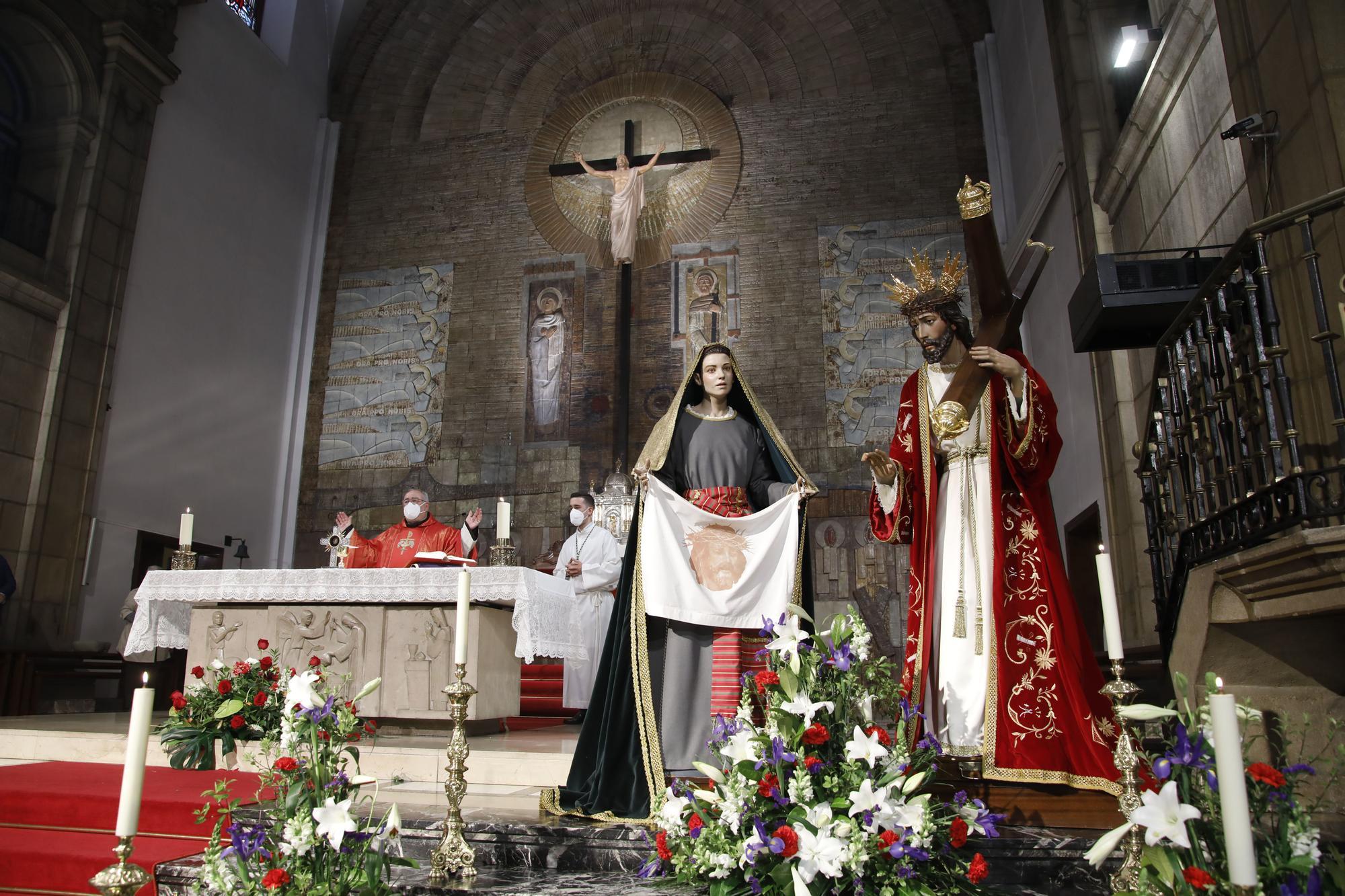 Sermón del Encuentro Camino del Calvario en la iglesia de San José