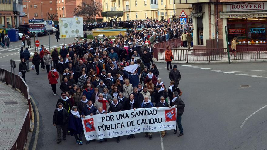 El movimiento en defensa de la Sanidad prepara una movilización en Zamora capital